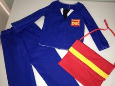 Postman outfit!