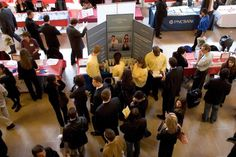 University career fairs are a great opportunity for students to connect with potential employers. Follow these tips on how to handle career fairs before, during and after they're over.