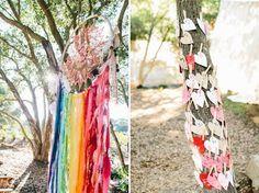 Beautiful colorful wedding inspiration