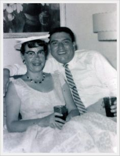 Ruby (Vigil) and Joe Demetrio Medina. Tia Stella wrote on the back of the photo; Taken on Easter Sunday, 1953 in Santa Fe at the home of Cris and Stella on Del Norte Lane. Photo is from the collection of Stella Sanchez.