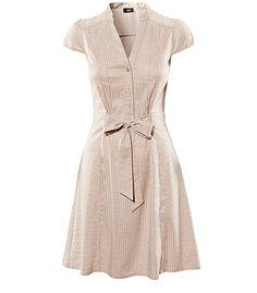 H -- Beige Dress GB 9.99  Can't wait to get an H near me! :D