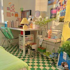 Room Design Bedroom, Room Ideas Bedroom, Home Room Design, Bedroom Decor, Pinterest Room Decor, Pastel Room, Cute Room Ideas, Indie Room, Pretty Room