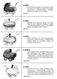 Herfordia und Reinicke Kinderwagen 30iger