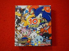 Sonic Adventure 2 Birthday Pack Dreamcast JPN  #retrogaming #HotDC  It seems complete. Good price atm. Auction from Yamatoku.