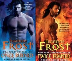 Night Prince Series by Jeaniene Frost