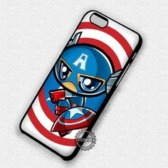 Baby Hero Captain America Shield - iPhone 7 6S 5 5S SE Cases & Covers
