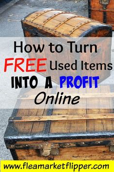 Looking to make a profit selling used items online? Between eBay, Craigslist and Facebook I have been able to sell flea market, thrift store, and yard sale items for a good side income. I made $42K last year as a side hustle!