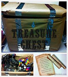Legendary Treasure Scavenger Hunt | @PluckingDaisy #Skylanders #Party