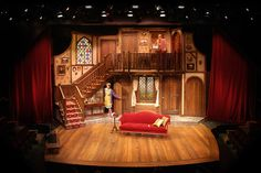 Noises Off  Cygnet Theatre in Old Town  Directed by Sean Murray  Set Design: Sean Fanning  Lighting Design: Eric Lotze  Costume Design: Corey Johnston  Sound Design: Matt Lescault-Wood