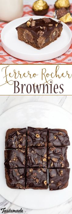 What's not to love about fudgy brownies stuffed with your favorite nutty chocolate candy?