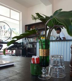 The Glenwood Bakery in Durban specialises in artisanal breads and traditional French ice cream. Cool Restaurant, Restaurant Ideas, Beautiful Interiors, Dream Big, Photo Ideas, Emerald, Restaurants, Bakery, Happiness