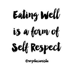 Eating well is a form of self respect. Make sure to checkout our newly…