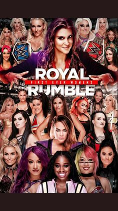 The first women's royal rumble 😭💖 Wrestling Superstars, Women's Wrestling, Wwe Events, Wwe Ppv, Wwe Royal Rumble, Wwe Sasha Banks, Wwe Female Wrestlers, Charlotte Flair, Wwe Womens
