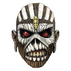 Trick or Treat Studios and Global Merchandising Services are proud to present the officially licensed Iron Maiden Eddie mask from The Book of Souls. Sculpted by Bruce Spaulding Fuller, this mask is ba