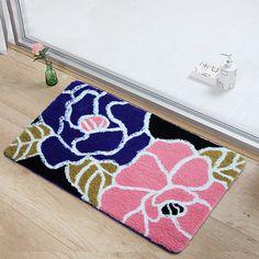 70*140 cm de Luxo Flor Capacho Tapetes e carpetes Em Casa Piso de Entrada Tapetes Tapete Tapete de Cozinha Material de Casa Tapete Decoração