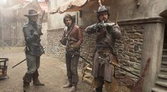The Musketeers - 1x05 - 'The Homecoming' stills from BBC Brazil on FB