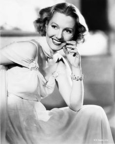 The Cluttered Classic Attic ❧: Photo Jean Arthur, House Cleaning Tips, Famous Faces, Attic, Entertaining, Black And White, Classic Hollywood, 1930s, Entertainment