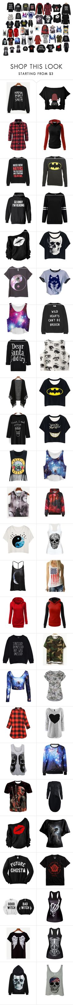 """""""shirts"""" by cassidy-irvin on Polyvore featuring Zoe Karssen, Chicnova Fashion, WithChic, Relaxfeel and WearAll"""