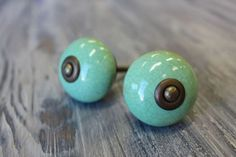 Green Ceramic Crackle Knobs available at Interiors To Inspire in Calgary, Alberta Canada. Click on the image above to shop our online store.