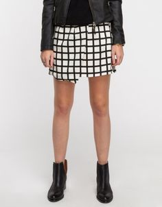 #Need Supply Co.          #Skirt                    #Grid #Skirt              Grid Skirt                                          http://www.seapai.com/product.aspx?PID=467251