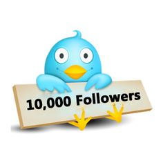 BUY 10,000 TWITTER FOLLOWERS. NO PASSWORD REQUIRED.  $19.99