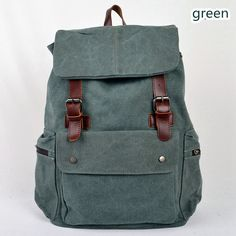 This backpack is made of waxed canvas.This bag is lightweight but still sturdy and durable.The bag is a great size and roomy. It can fit a 15 laptop.