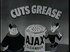 Old TV ads - Commercials from the - Ajax Cleaner Ad 2 Commercial Advertisement, Advertising, School Tv, Old Hollywood Actresses, Old Commercials, Vintage Television, Great Ads, Poster Ads, Tv Ads