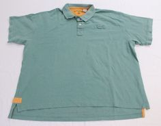 d4d1320abaf8 Orvis Polo Shirt XXL Mens Green Short Sleeve Shirt 2XL Cotton Outdoors  Fishing  Orvis