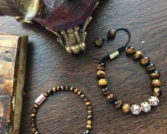 Beaded Bracelets, Jewels, Men, Fashion, Jewelery, Moda, La Mode, Gemstones, Fasion