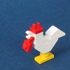 Year of the Roosrer - Lego - Lego Duplo, Lego Design, Mosaico Lego, Legos, Lego Poster, Carl Y Ellie, Construction Lego, Van Lego, Micro Lego
