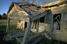 house falling apart - Google Search