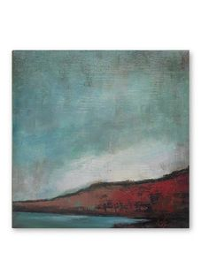 """Original oil painting Landscape painting  Abstract painting Canvas 12""""x12"""" - modern fine art"""