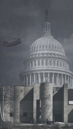 """Opposite Office proposes fortifying US Capitol """"to protect democracy""""."""