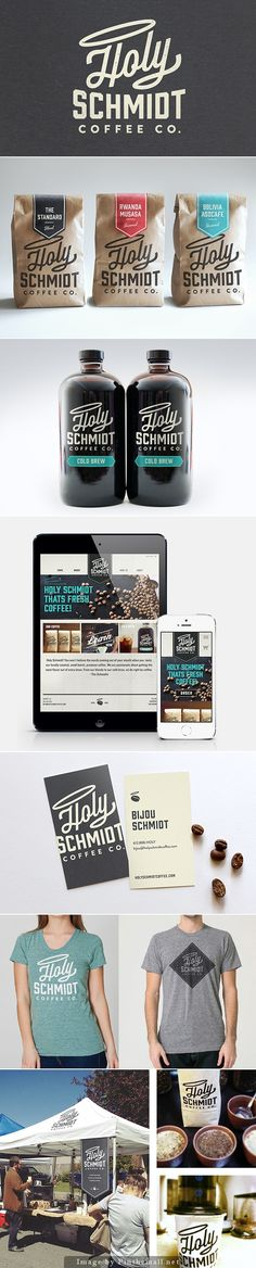 Holy Schmidt Coffee Co. by Ryan Meline