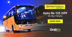 Now You Can Save While Booking Bus Tickets Too.‪ #SaveOnGrabOn http://www.grabon.in/mybustickets-coupons/