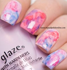 China Glaze - Road Trip nail art