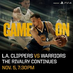 Tomorrow, the rivalry continues on #WarriorsGround. Will you be there? Limited tickets available at warriors.com.
