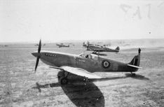 Supermarine Spitfire Mk.IXC, EN315 'ZX-6', of the Polish Fighting Team (Skalski's Circus) attached to No. 145 Squadron RAF, flown by the unit's Commanding Officer, Squadron Leader Stanisław Skalski, Goubrine Airfield in Tunisia, 1943