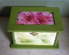 Peach Blossom Recipe Box
