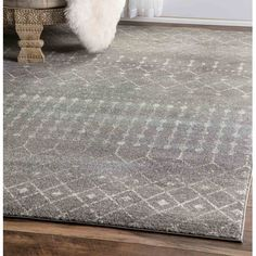 Found it at Wayfair - Bayfront Dark Gray Area Rug