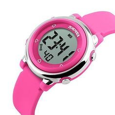 Best price on USWAT® Children Digital Watch Outdoor Sports Watches Boy Kids Girls LED Alarm Stopwatch Wrist watch Children's Dress Wristwatches Pink  See details here: http://bestapparelreview.com/product/uswat-children-digital-watch-outdoor-sports-watches-boy-kids-girls-led-alarm-stopwatch-wrist-watch-childrens-dress-wristwatches-pink/    Truly the best deal for the brand new USWAT® Children Digital Watch Outdoor Sports Watches Boy Kids Girls LED Alarm Stopwatch Wrist watch Children's Dress…