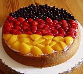 Summer is not very rich in holidays, but you can make yourself one with Obsttorte - German fruit cake. Here is how to cook it. Baking Recipes, Cake Recipes, Dessert Recipes, Snacks Recipes, Waffle Recipes, Burger Recipes, Recipes Dinner, Potato Recipes, Fruit Flan