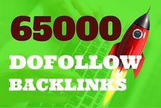65000 DOFOLLOW bullet proof seo backlinks by backlinkshub