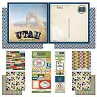 Scrapbook Customs Themed Paper and Stickers Scrapbook Kit, Utah Vintage on eBay for $10.66