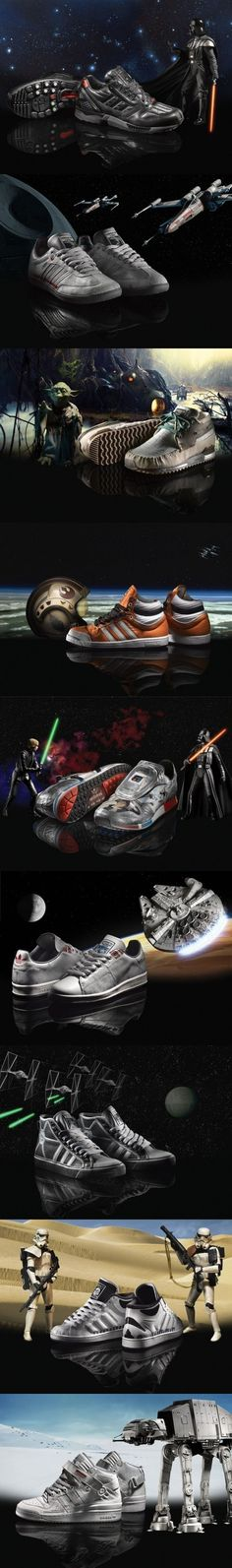 Which pair of Adidas Star Wars shoes would you buy (if you could)?