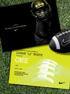 """Photo 1 of 5: Nike Football / Birthday """"LJ turns One"""" 