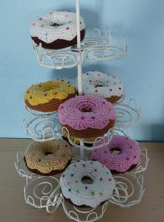 Ravelry: Sprinkly Donuts pattern by Olivia Rainsford....LOVE THIS!!!