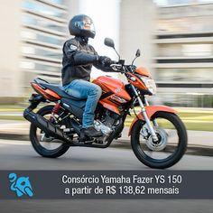 A Yamaha fazer 150 é a primeira moto de 150 cilindradas da marca. Confira: http://www.consorciodemotos.com.br/noticias/consorcio-yamaha-fazer-ys-150-a-partir-de-r-138-62-mensais?idcampanha=288&utm_source=Pinterest&utm_medium=Perfil&utm_campaign=redessociais
