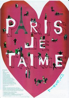 'Je taime Paris'  by Ella georgia.