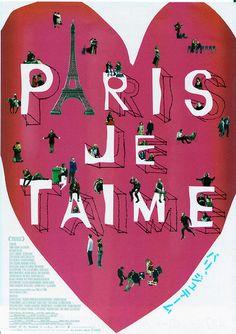 'Je taime Paris'  by Ella georgia.